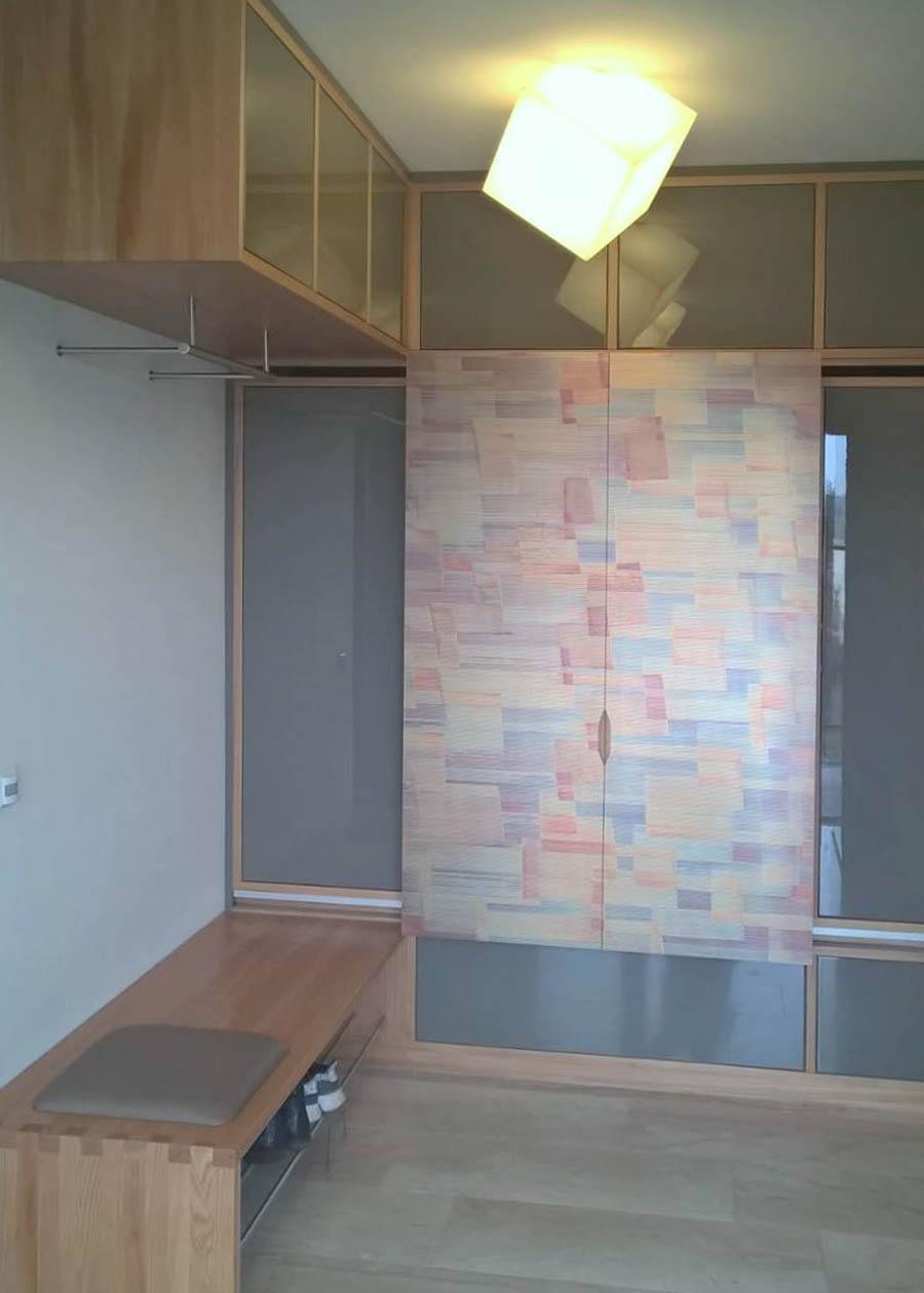Garderobe mit Schiebetüren | Möbel und Inneneinrichtungen