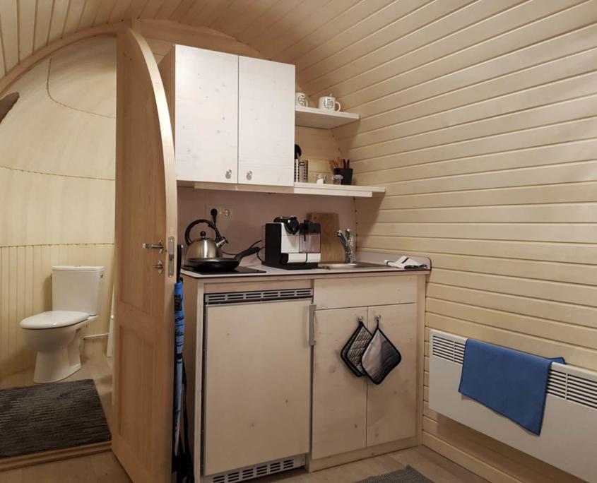 Küchenmöbel für Iglu