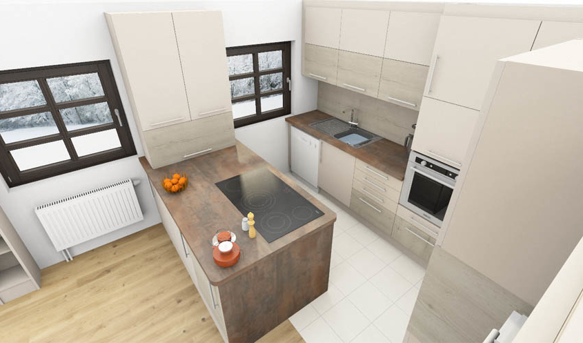 3-D Küchenplanung