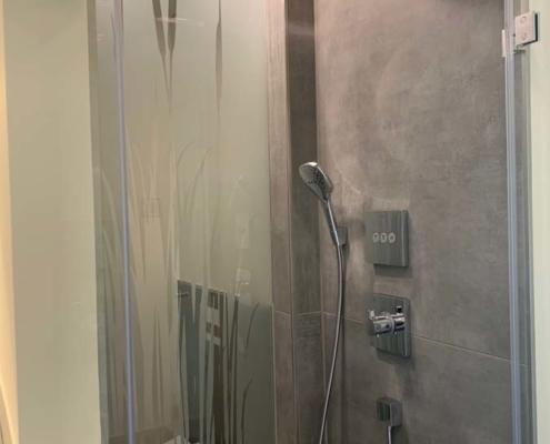 Inneneinrichtung Bootshaus - Gästebad Dusche