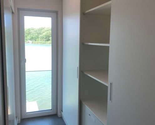 Inneneinrichtung Bootshaus - Schlafzimmerschrank